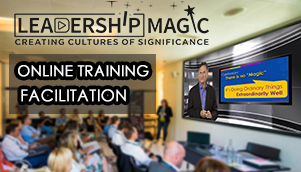 Leadership magic - online training facilitation